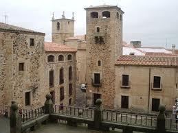 Cáceres. Plaza de San Jorge